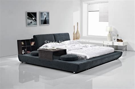 new bed design 2015new design soft bed household hotel bed leather fabric