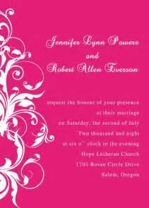 Pocket Wedding Invitation Kits Pink Wedding Invitations Elegant Wedding Invites Part 2