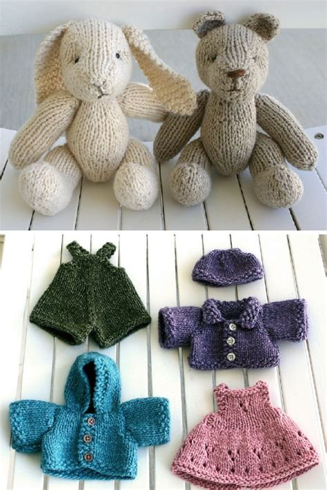 free knitting patterns for dolls clothes and toys 25 best ideas about knitted toys patterns on