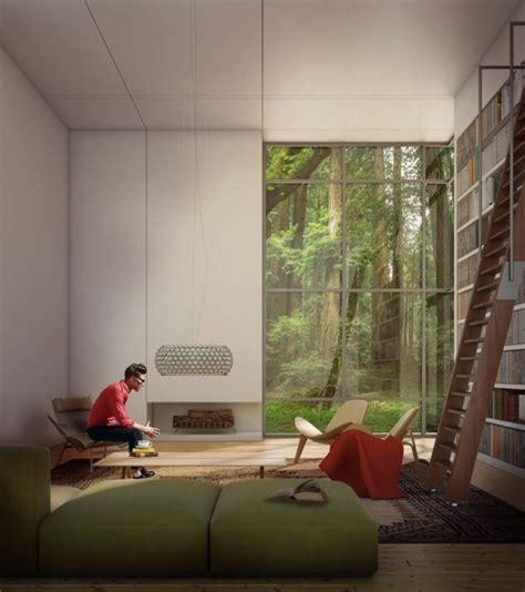 Jungle Living Room by Lovely Living Rooms For A Design Loving