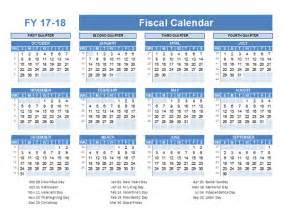 Fiscal Calendar Template by Fiscal Planner Template 2017 Free Printable Templates