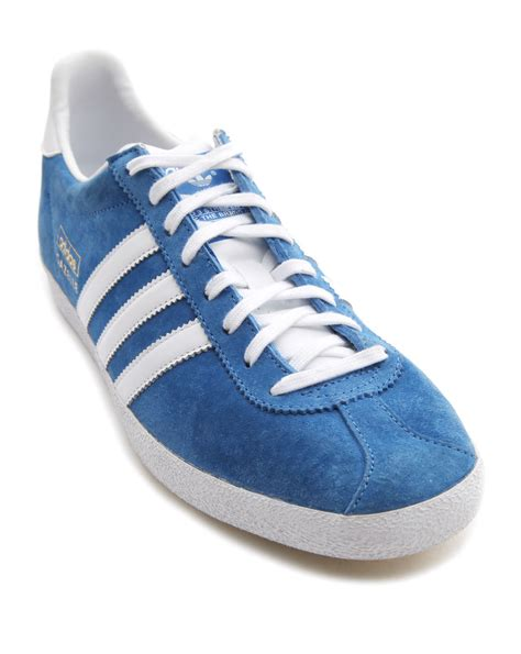 Adidas Shoes Blue adidas gazelle og blue low sneakers in blue for lyst
