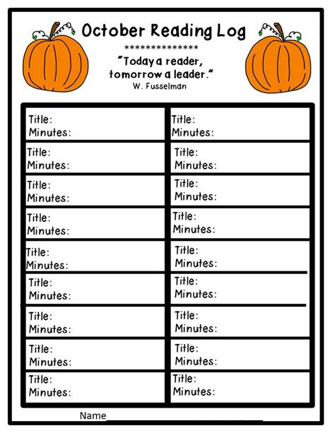 printable monthly reading log with parent signature free printable reading logs with parent signature best