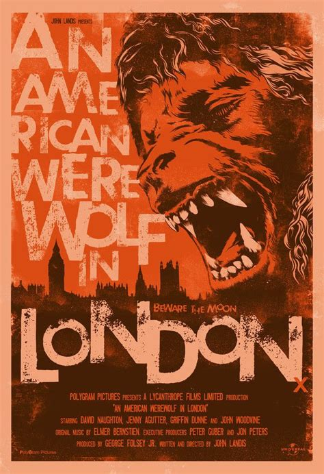 poster design jobs london an american werewolf in london 1981 movie poster