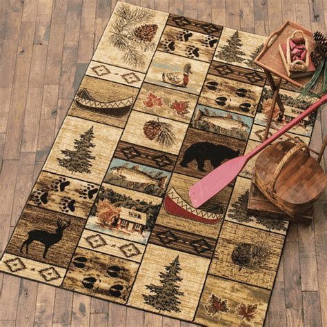 black forest home decor cabin home rug 5 x 7