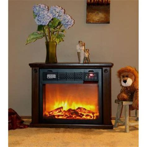 Sunheat Fireplace by Sunheat 25 In Portable Infrared Electric Fireplace With