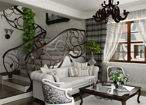 nouveau interior design with its style decor and colors