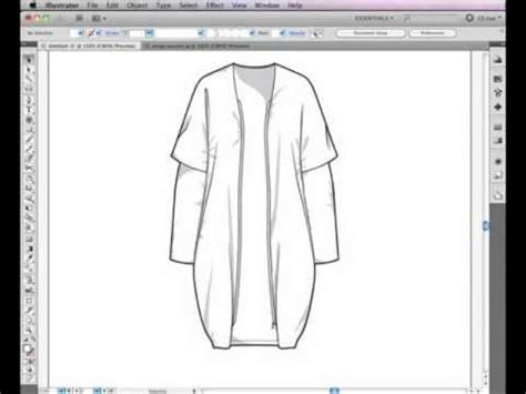tutorial illustrator fashion design illustrator cs5 pen tool used for fashion design nyim