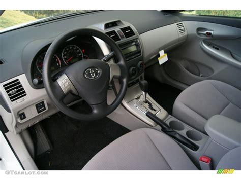2012 Corolla Interior by The Gallery For Gt Toyota Corolla 2012 Interior
