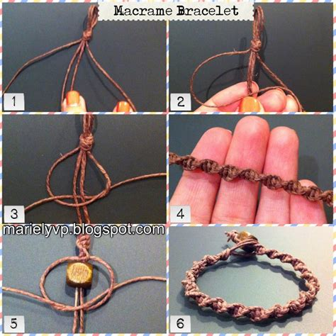 How To Make A Macrame - we read photo tutorial macrame bracelet
