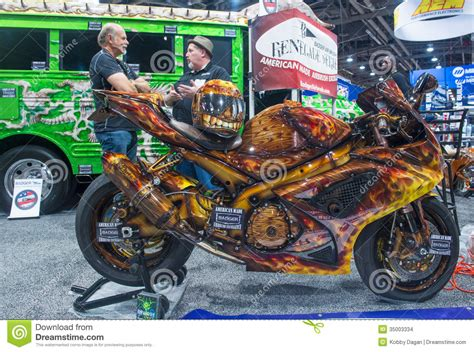2015 las vegas motorcycle show sema car show 2013 editorial stock image image 35003334