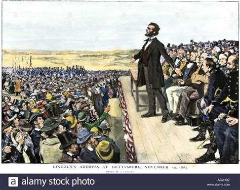 lincoln pa address president abraham lincoln delivering the gettysburg