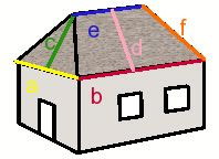 Hip Roof Area Calculator hipped roof calculator counts slope area roofing material quantity and costs