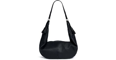 Gucci Broche Gg Sling Bag Ac865 the row sling 15 grainy leather hobo bag in black lyst