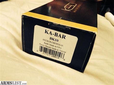 becker bk10 for sale armslist for sale sold new ka bar becker bk10 crewman