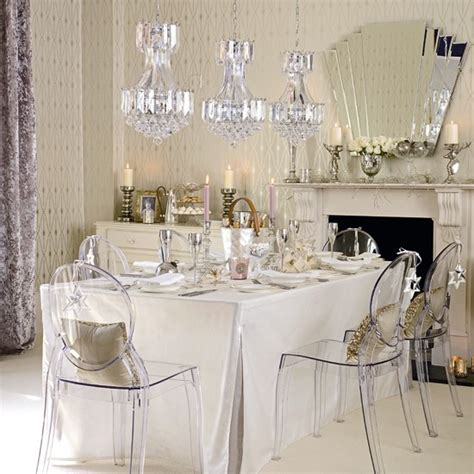 glamorous dining rooms glamorous dining room dining room designs chandeliers housetohome co uk