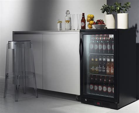 bar with and fridge stylish glass door fridge to see what is inside amaza design