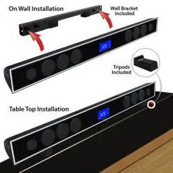 Vizio Soundbar Wall Mount Soundbar For Tv With 8 0 Quot Wireless Subwoofer Av Express
