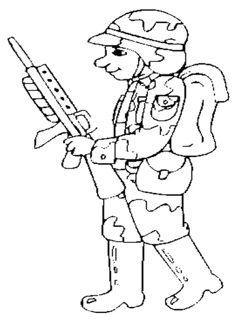 army soldier coloring pages for kids coloring