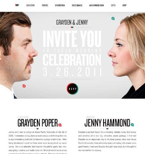 web wedding invitation 20 beautiful wedding invitation website designs hongkiat