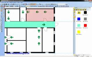 how to make a house plan visual building tutorial creating a fire escape plan