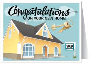 congrats new home real estate greeting cards
