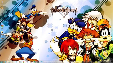windows 7 themes kingdom hearts kingdom hearts windows 7 theme by yonited on deviantart