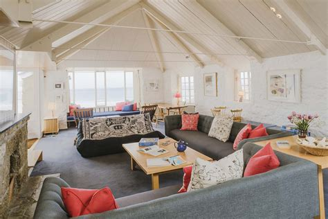 the living room st ives saltings large self catering in st ives cornwall