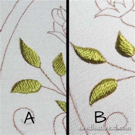 how to do embroidery with tutorials for embroidered leaves flowers