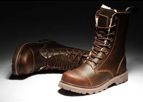 mens tan motorcycle boots mens leather winter boots yu boots