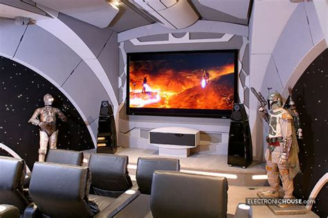 star wars house how would darth vader enjoy home theater like this
