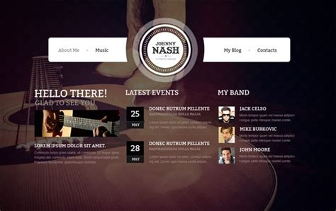 6 Retro Web Design Distinctive Features With Exles Country Website Template