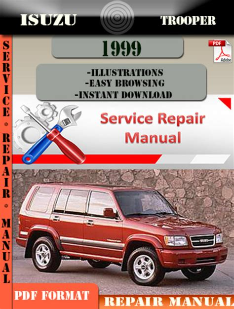 best car repair manuals 2000 isuzu trooper engine control isuzu trooper 1999 digital factory repair manual download manuals