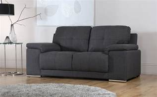 kansas 3 seater fabric sofa slate grey only 163 499 99