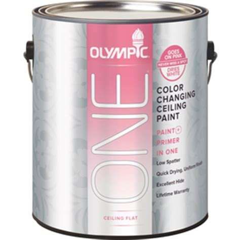 color changing ceiling paint shop olympic one color changing ceiling paint ultra white