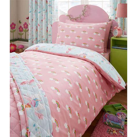 magical unicorn junior duvet cover set kids bedding