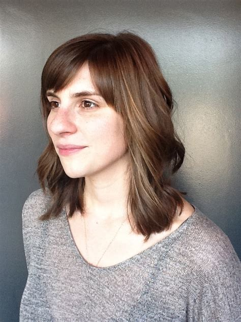low maintenance womens haircuts for thick hair photo