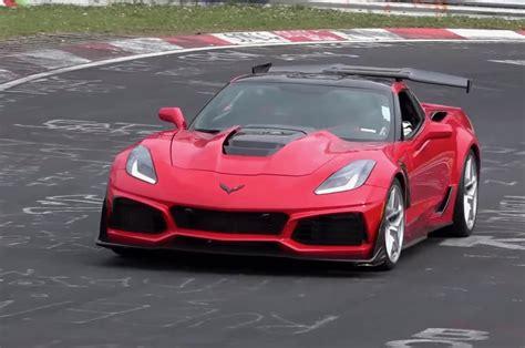 2019 Corvette Zr1 by 2019 Chevrolet Corvette Zr1 Sets 7 12 Nurburgring