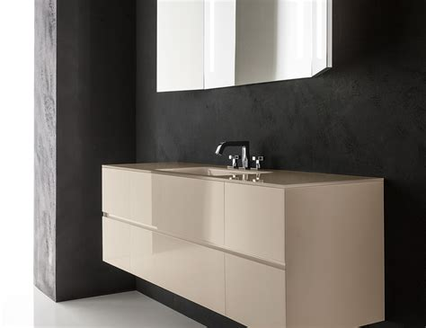 Nella Vetrina Crystal Contemporary Italian Bathroom Vanity Modern Italian Bathroom Vanities