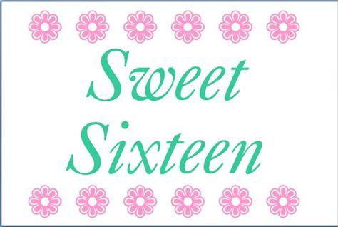 Free Printable Sweet 16 Invitation Templates Sweet 16 Invitations Templates Free