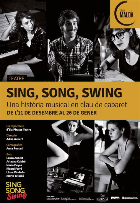 song swing musicales en barcelonapirates teatre estrenan en c 237 rcol