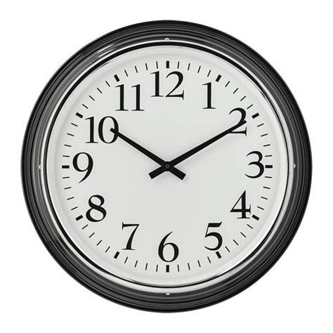 Ikea Bravur Jam Dinding Hitam bravur wall clock ikea