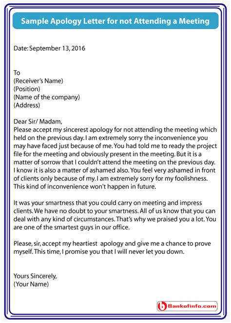 business apology letter for not attending an event 8 apology letter for not attending time table chart