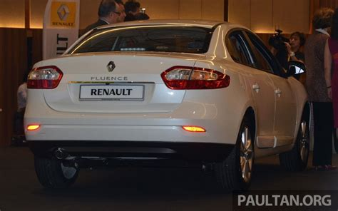 Renault Fluence Malaysia Renault Fluence 2 0 Unveiled In Malaysia Rm115k Image 248977