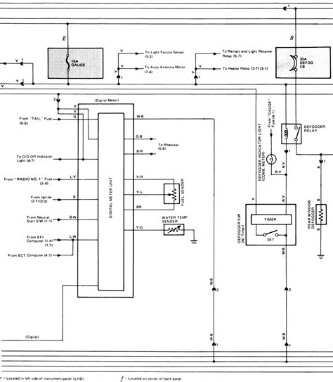 toyota camry power door lock wiring diagram wiring
