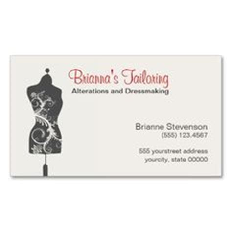 tailoring alterations business card templates free 1000 images about tailor business cards on