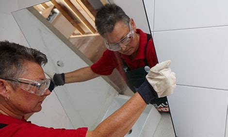 installing bathroom mirror how to install a bathroom mirror bunnings warehouse