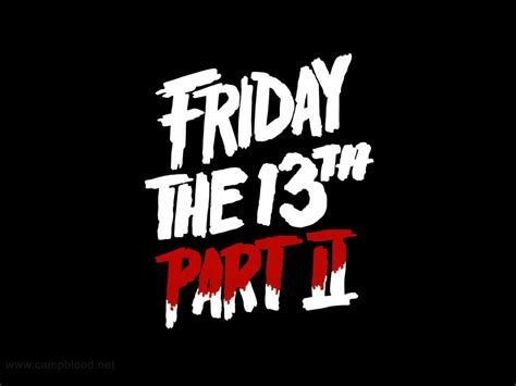 film it part 2 friday the 13th part 2 horror movies wallpaper 7262054