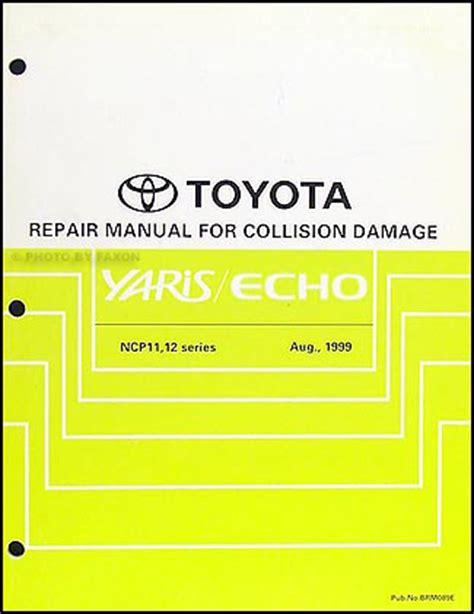automotive service manuals 2000 toyota echo free book repair manuals 2000 toyota echo wiring diagram manual original