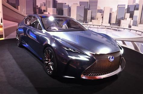 2020 Lexus Lf Lc by New Lexus Lf Fc Fuel Cell Concept To Go On Sale Before